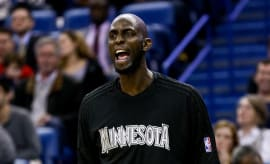 Kevin Garnett Scream 2016 Timberwolves