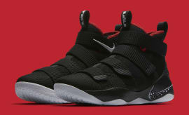 Nike LeBron Soldier 11 Bred Release Date Main 897644-002