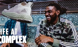 NBA Players Kenneth Faried & Allen Crabbe Talk AlphaEdge 4D | Life At Complex