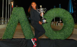 Serena Williams NikeCourt Flare AJ1 Banned
