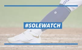 Josh Donaldson Nike LeBron Soldier 10 Cleats Lead
