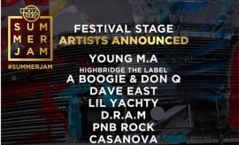 Hot 97 announces the 2017 Festival Stage lineup for Summer Jam.
