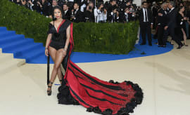 Nicki Minaj attends the \Costume Institute Gala