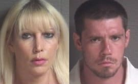 North Carolina mother and son arrested for incest mugshots.