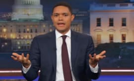 Trevor Noah on 'The Daily Show.'