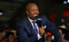 Kenny Smith on the panel for NBA on TNT