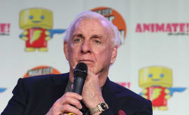 Ric Flair attends Magic City Con 2016