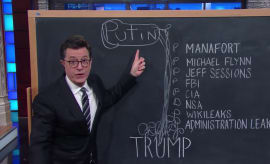 Colbert is good at diagrams