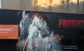 Defaced Prodigy Mural