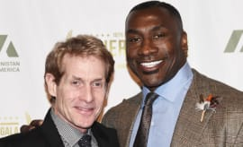 Skip Bayless and Shannon Sharpe.