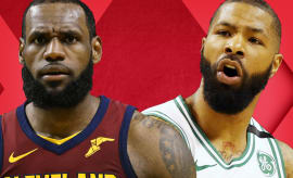 Celtics Embarrass Cavs in Game 1; Is Marcus Morris the Real LeBron Stopper? | Out of Bounds