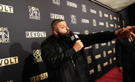 DJ Khaled attends the 5th Annual Global Spin Awards