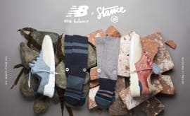 new balance x stance shoes and socks