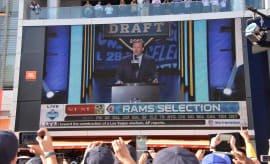 Los Angeles Rams Fans 2016 NFL Draft Party