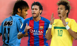 Neymar's Best Hair Moments