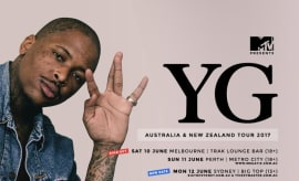 YG Australia and New Zealand 2017 Tour Flier