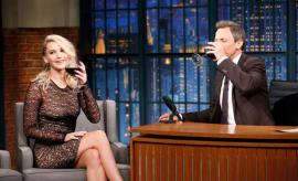 Jennifer Lawrence on Seth Meyers