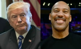 Donald Trump and LaVar Ball have beef.