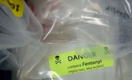 Fentanyl label
