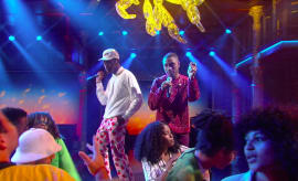 Tyler, The Creator performs on 'Colbert.'