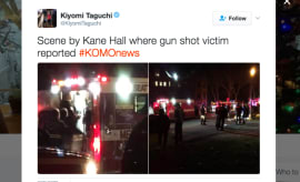 Shooting at Kane Hall.
