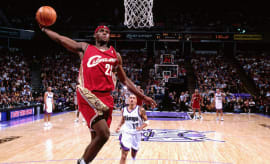 LeBron James First Game