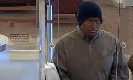 Bank robbery in blackface