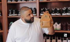 DJ Khaled Sneaker Closet