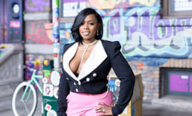 Remy Ma arrives for VH1's Hip Hop Honors: The '90's Game Changers.