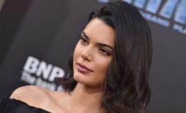 Model Kendall Jenner arrives at the Los Angeles premiere of 'Valerian'