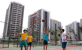 olympic village rio basketabll