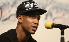 Stephon Marbury in press conference