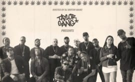 This is Taylor Gang's 'TGOD Vol. 1' mixtape art.
