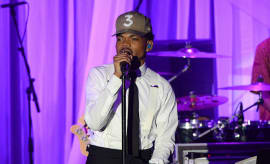 Chance the Rapper performs onstage during the 2017 Pre-GRAMMY Gala