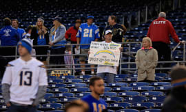 San Diego Chargers fan