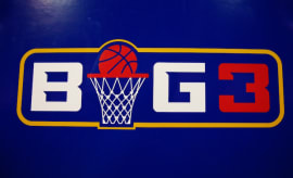 A logo of the BIG3.