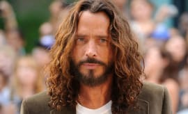 This is a photo of Chris Cornell.