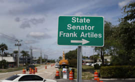 This is a photo of State Senator Frank Artiles.
