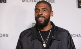 Kyrie Irving at a Sports Illustrated event.