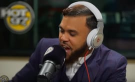Jidenna on Hot 97