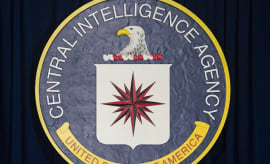 The logo of the Central Intelligence Agency