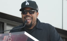 Ice Cube laughs.