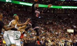 Bulls Celtics 2017 Playoffs Game 1