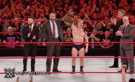 Tyler Bate becomes the WWE's first UK champion.