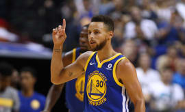 Steph Curry in China