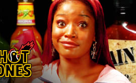 Keke Palmer Hot Ones thumb