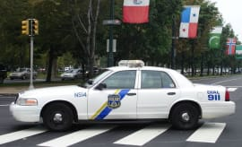 This is a photo of a Philadelphia police car.