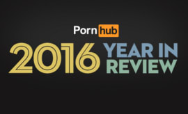 Pornhub drops their 2016 year in review