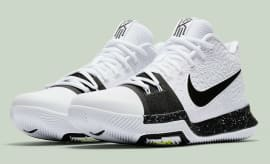 Nike Kyrie 3 White Black Volt Release Date Main 917724-100