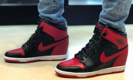 Banned Air Jordan 1 Wedge Michael Jordan Wife